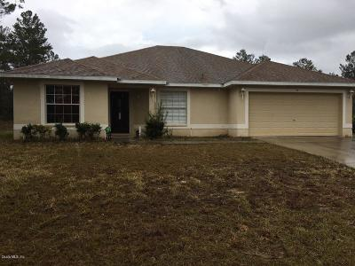 Homosassa Single Family Home For Sale: 95 Vinca Street