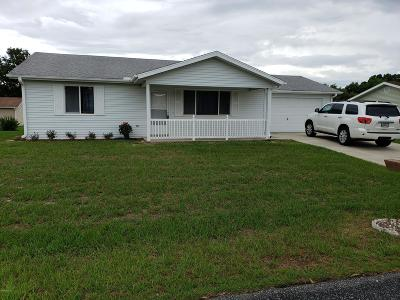 Ocala Single Family Home For Sale: 8522 SW 108th Lane