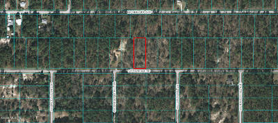 Dunnellon FL Residential Lots & Land For Sale: $25,000