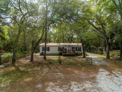 Fort McCoy Single Family Home For Sale: 10542 NE 153rd Street