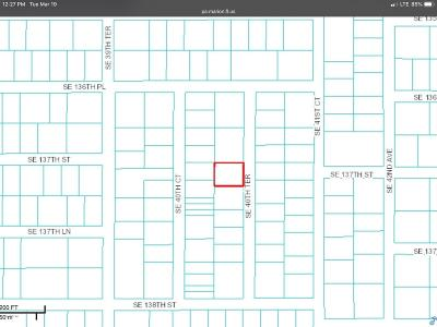 Belleview Residential Lots & Land For Sale: SE 40th Terrace