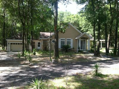 Ocala Single Family Home For Sale: 12600 SW 43 St Road