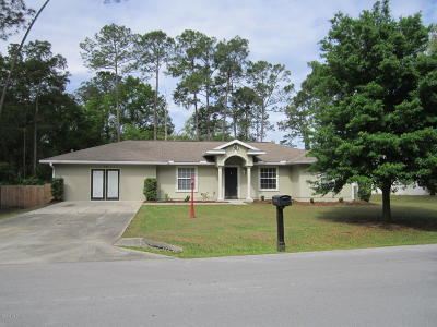 Ocala Single Family Home For Sale: 28 Redwood Track Run