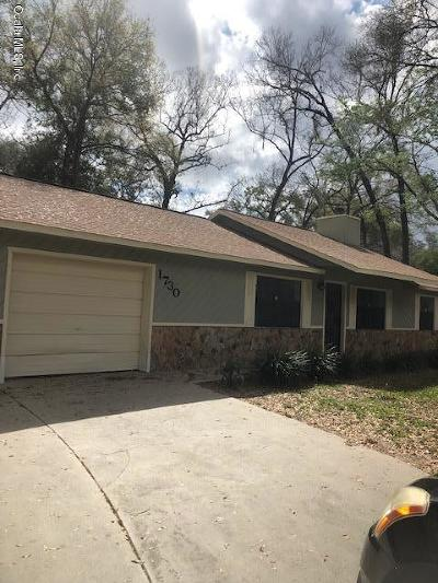 Ocala Single Family Home For Sale: 1730 NE 36 Street