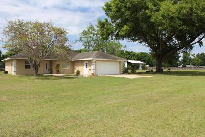 Citra Single Family Home For Sale: 13830 N Magnolia Avenue