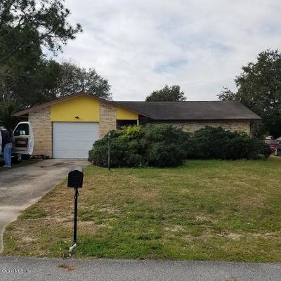 Ocala Single Family Home For Sale: 23 Sapphire Way