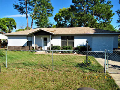 Ocala Single Family Home For Sale: 8799 SE 89th Street