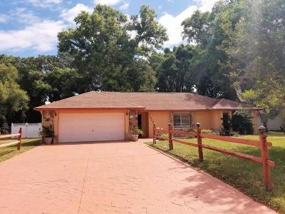 Ocala Single Family Home For Sale: 10625 SW 75th Terrace