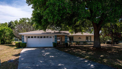 Ocala Single Family Home For Sale: 9845 SW 59th Circle