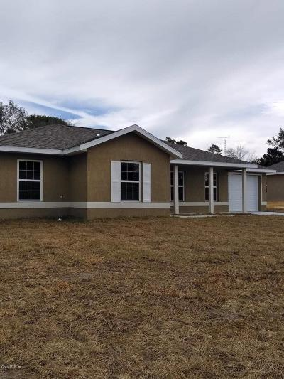Marion County Rental For Rent: 5665 SW 153rd Place Road