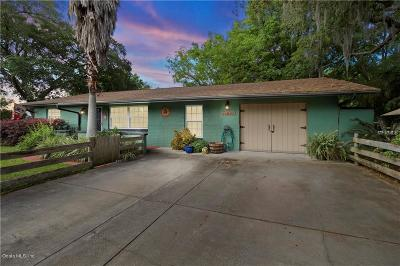 Belleview Single Family Home For Sale: 11582 SE 72nd Terrace Road