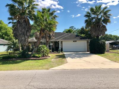Belleview Single Family Home For Sale: 5420 SE 108 Place