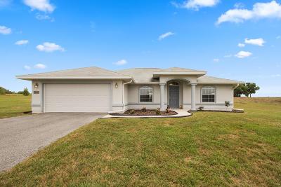 Dunnellon Single Family Home Pending: 21741 SW 10th Street