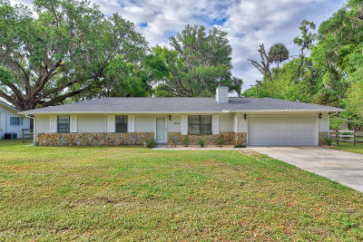Belleview Single Family Home For Sale: 6000 SE 127th Place