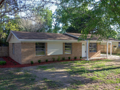 Belleview Single Family Home For Sale: 12050 SE 95th Terrace