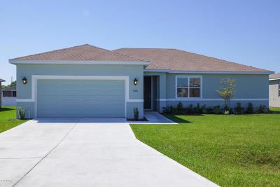 Ocala FL Single Family Home For Sale: $215,000