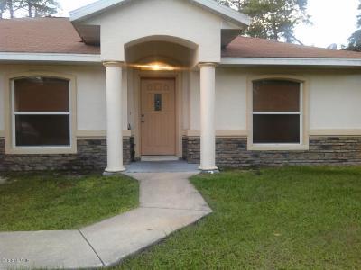 Ocala Rental For Rent: 2121 SW 166 Lane