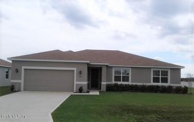 Marion County Single Family Home For Sale: 5136 SE 91st Place Place
