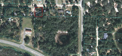 Silver Springs FL Residential Lots & Land For Sale: $13,000