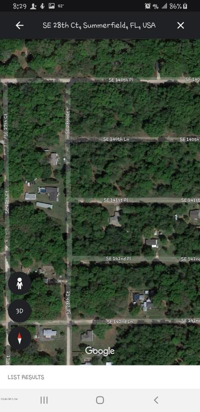 Summerfield Residential Lots & Land For Sale: SE 28th Court