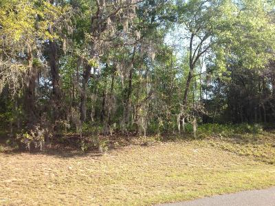 Ocala Residential Lots & Land For Sale: Lot12 SW 130th Lane Road