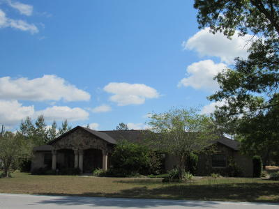 Ocala Waterway Single Family Home For Sale: 11357 SW 49th Avenue