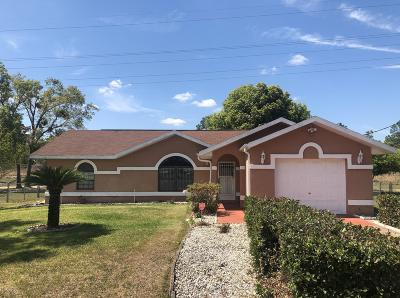 Ocala Single Family Home For Sale: 16 Spring Circle