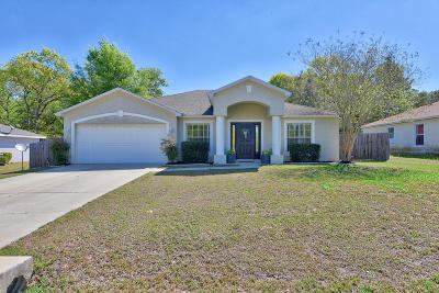 Ocala Single Family Home For Sale: 24 Pine Ct Loop