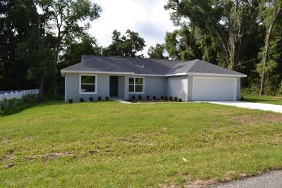 Marion County Single Family Home For Sale: 14 Juniper Trail