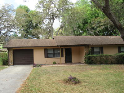 Ocala Single Family Home For Sale: 35 Cedar Tree Terrace