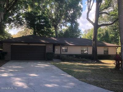 Ocala Single Family Home For Sale: 1740 SE 39th Terrace