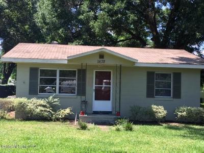 Ocala FL Single Family Home For Sale: $69,900