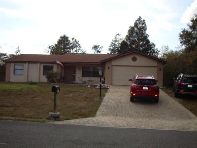 Ocala Single Family Home For Sale: 14090 SW 34th Terrace Road