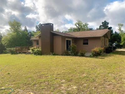 Dunnellon Single Family Home For Sale: 8880 SW 200 Circle