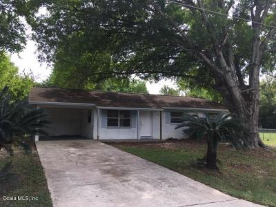 Ocala Single Family Home For Sale: 1908 NE 50th Street
