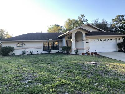 Ocala Single Family Home For Sale: 14630 SW 25th Terrace