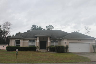 Ocala Waterway Single Family Home For Sale: 4867 SW 103 Place