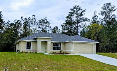 Ocala Single Family Home For Sale: 16086 SW 53rd Court