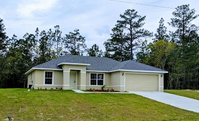 Ocala Single Family Home For Sale: 2788 SW 161st Loop