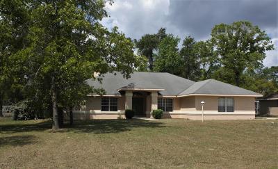 Ocala Single Family Home Pending: 10458 SW 52nd Court