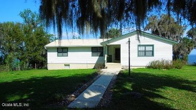Salt Springs Single Family Home For Sale: 8445 NE 310 Avenue