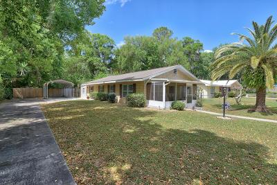 Ocklawaha Single Family Home Pending: 12370 SE 135th Court