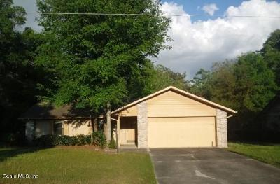 Ocala Single Family Home For Auction: 4885 NE 27th Court #1