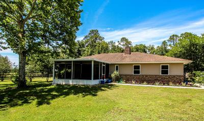Marion County Farm For Sale: 451 NE 165th Street