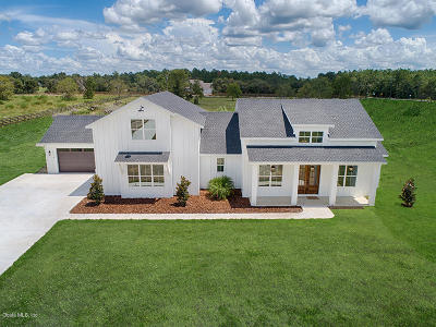 Lake County, Sumter County Single Family Home For Sale: Lot 3 County Road 439