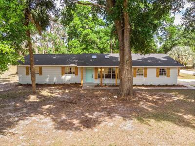 Ocala Single Family Home For Sale: 4355 E Ft King Street