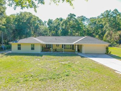 Ocala Single Family Home For Sale: 4360 SW 126th Terrace