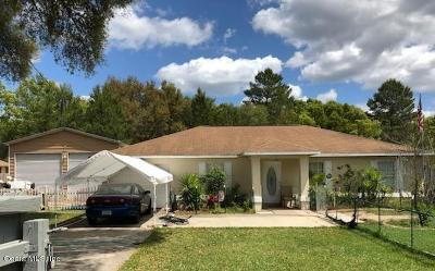 Ocala Single Family Home For Sale: 33 Oak Circle