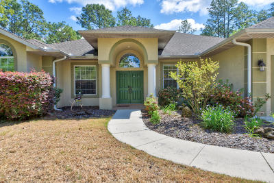 Dunnellon Single Family Home For Sale: 8605 SW 209th Court Road