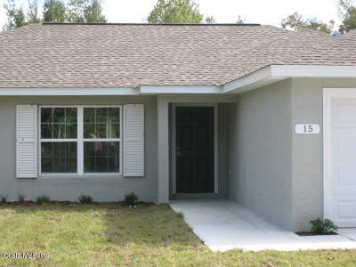 Ocala Single Family Home For Sale: 15 Pecan Pass Way